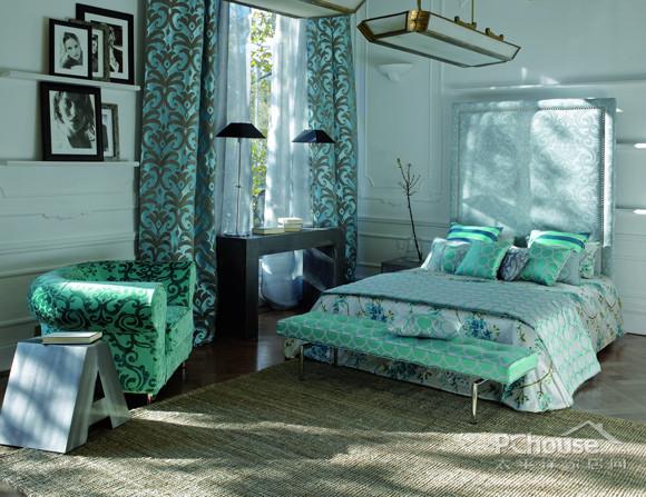 春季卧室换装 8款窗帘搭配出春意空间