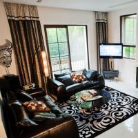 家居黑白配 10万装现代简约三居室