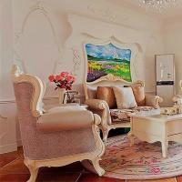 超浪漫 惊艳蜕变的3居法式田园婚房